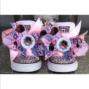 ae3a2015b905 Kids  Bling Converse Sneakers on Poshmark